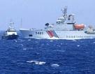 Từ Hoàng Sa: Xuất hiện tàu Trung Quốc có bệ phóng tên lửa