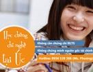 Học chứng chỉ nghề tại Úc: Không cần IELTS, không chứng minh tài chính