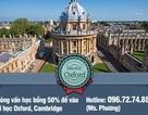 Phỏng vấn học bổng 50% để vào Đại học Oxford, Cambridge