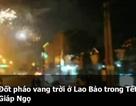 """""""Trúng"""" gỗ, dân vùng biên Lao Bảo đốt pháo vang trời"""