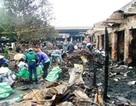 Nhanh chóng xây dựng lại ki-ốt bị cháy ở chợ Ba Đồn