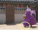 Kim Tae Hee bị phát hiện đi giày cao gót trong phim cổ trang