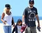 Christian Aguilera vui vẻ tái ngộ chồng cũ