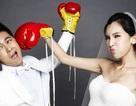 Ảnh cưới ngộ nghĩnh của Lâm Chí Dĩnh