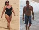 """Vợ của """"điệp viên"""" Pierce Brosnan khoe dáng trên biển"""