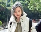 Gặp hoa đán TVB Lam Khiết Anh lang thang trên phố
