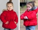 Bé 2 tuổi kiếm bộn tiền nhờ giống con gái David Beckham