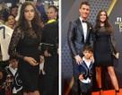 Siêu mẫu Nga hạnh phúc tháp tùng C.Ronaldo nhận giải