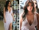 Kim Kardashian cuốn hút với ngực đầy, chân thon