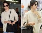 """Song Hye Kyo vẫn xinh đẹp dù để mặt """"mộc"""" và mặc giản dị"""