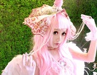 Trọn bộ cosplay ngựa hồng đẹp long lanh của Chibi