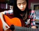 Clip cô gái chơi guitar hát tình ca hút 90.000 lượt xem