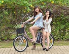 Trào lưu xe đạp điện trở lại với teen Sài Thành