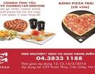 Câu chuyện về ngày valentine's với chiếc bánh Pizza