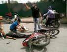 Hà Nội: Tránh CSGT này, tông CSGT khác trọng thương