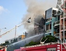 Hơn 100 chiến sĩ tham gia chữa cháy ngôi nhà 4 tầng