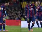 Messi lại bị bắt gặp... nôn khan