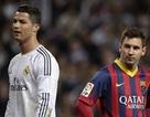 Cuộc đua bàn thắng năm 2014: C.Ronaldo 60-58 Messi