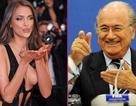 Nghi vấn Sepp Blatter cặp kè với bồ cũ C.Ronaldo