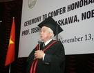 Giáo sư Nhật Bản đoạt giải Nobel Vật lý chia sẻ bí quyết thành công