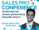 Học bán hàng chuyên nghiệp tại SalesPRO Conference 2014