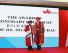 Nguyên Hiệu trưởng ĐH Ngoại thương được trao bằng Tiến sỹ danh dự