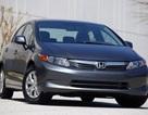 Honda triệu hồi xe Civic 2012 vì vấn đề trục lái