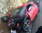 """Siêu xe Ferrari 458 Spider """"tử nạn"""" khi vừa rời đại lý"""