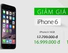 iPhone 6 chính hãng điều chỉnh giá, giảm 1 triệu đồng