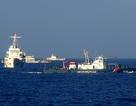 Máy bay trinh sát Trung Quốc lượn trên tàu Cảnh sát biển Việt Nam