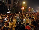 Hà Nội: Gần nửa đêm vẫn ùn tắc nghiêm trọng