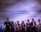 ĐH Ngoại thương TPHCM vô địch cuộc thi Phân tích Đầu tư của Viện CFA tại Việt Nam