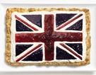 Ngắm lá quốc kỳ độc đáo làm từ đồ ăn