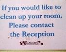 Biển hiệu tiếng Anh khiến du khách vừa buồn cười vừa bối rối