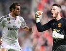 MU bất lực trong việc dùng De Gea để câu Bale
