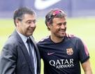 Sau cú ăn ba, Barca gia hạn hợp đồng với HLV Luis Enrique