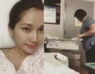 Kim Hiền đã sinh con gái tại Mỹ