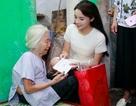 """Hoa hậu Kỳ Duyên làm từ thiện ngày """"Thương binh liệt sĩ"""""""