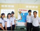 """Tấm bản đồ """"Việt Nam - Quê hương tôi"""" của học sinh An Lạc Thôn"""