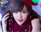 Nữ sinh ĐH Văn hóa xinh đẹp trong bộ ảnh đón Noel