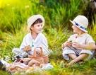 Tuyệt đẹp bộ ảnh hai chú bé du mục của nhiếp ảnh gia người Nga