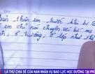 Tâm thư của nữ sinh Phú Thọ bị mất tiếng nói vì bạn đánh