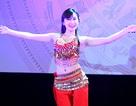 Nữ sinh Hà thành khoe đường cong đầy sức sống trong vũ điệu Ấn Độ