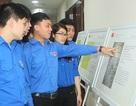 Hà Nội: Đoàn viên được tận mắt chứng kiến bộ bản đồ và tư liệu Hoàng Sa, Trường Sa