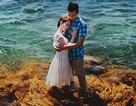 """Ảnh cưới đẹp """"lung linh"""" của cặp đôi Sài thành trên biển đảo Lý Sơn"""