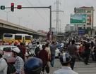 Bến xe quá tải vì dòng người đổ về thủ đô