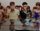 Đang chia chác ma túy thì bị công an bắt giữ