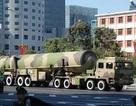 Trung Quốc đưa 10 tên lửa tầm bắn 11.000 km vào biên chế
