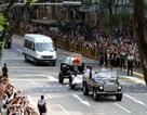 Cận cảnh lễ rước linh cữu ông Lý Quang Diệu tới tòa nhà quốc hội Singapore