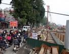 """Hà Nội chặn phương tiện """"quá khổ"""" vào khu vực thi công đường sắt đô thị"""